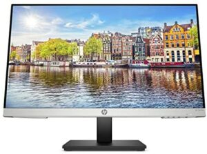 HP 24mh FHD Monitor – Computer Monitor with 23.8-Inch IPS Display (1080p) – Built-In Speakers and VESA Mounting – Height/Tilt Adjustment for Ergonomic Viewing – HDMI and DisplayPort – (1D0J9AA#ABA)