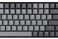 Keychron K4 Wireless Mechanical Gaming Keyboard with White LED Backlight/Gateron Red Switch/Wired USB C/96% Layout, 100 Keys Bluetooth Computer Keyboard for Mac Windows PC Gamer – Version 2