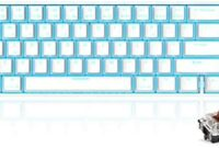 RK71 Mechanical Keyboard 71 Keys 70% LED Backlit Compact Gaming Keyboard, Tenkeyless Wired/Wireless Bluetooth Portable Gaming/Office with Stand-Alone Arrow Keys for Mac Windows (Brown Switch-,White)