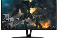 """Acer Gaming Monitor 27"""" Curved ED273 Abidpx 1920 x 1080 144Hz Refresh Rate G-SYNC Compatible (Display Port, HDMI & DVI Ports) Black"""