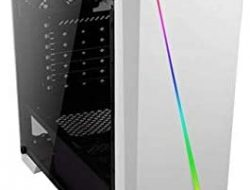 Cylon White RGB Mid Tower Computer Case